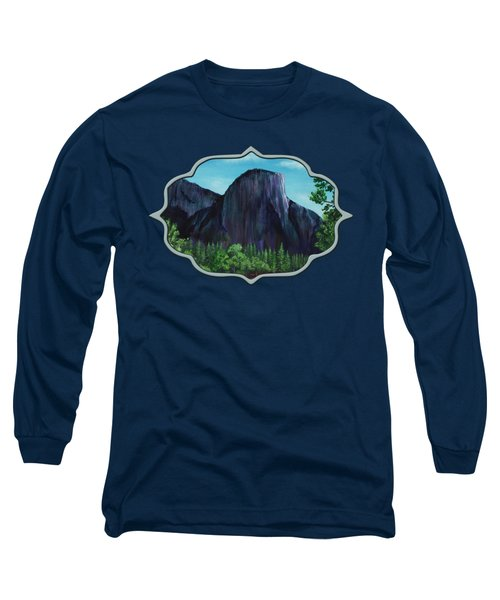 El Capitan Long Sleeve T-Shirt by Anastasiya Malakhova