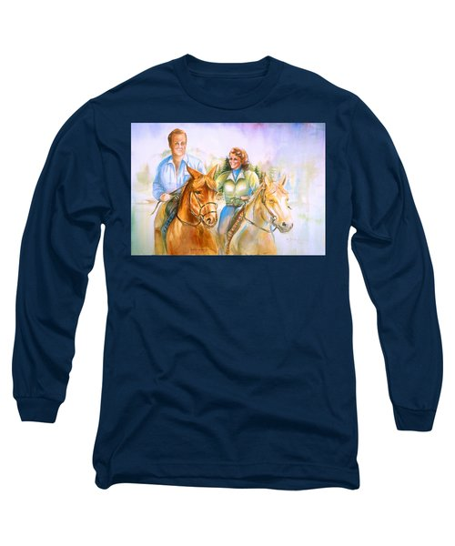 Eleanor And George Long Sleeve T-Shirt