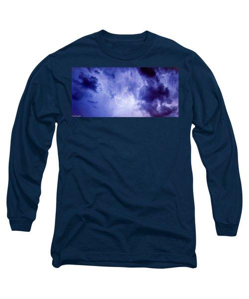 Electric Blue Long Sleeve T-Shirt