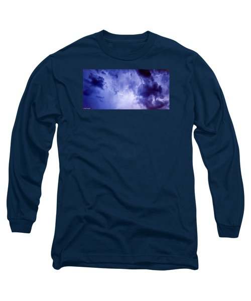 Electric Blue Long Sleeve T-Shirt