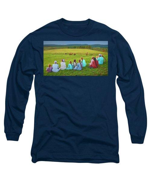 Elk Watch Long Sleeve T-Shirt