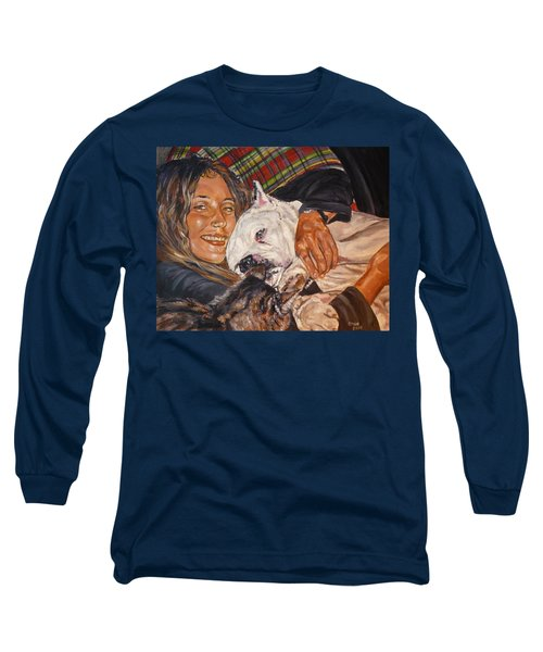 Elvis And Friend Long Sleeve T-Shirt by Bryan Bustard