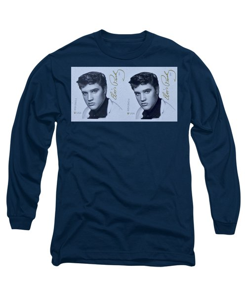 Elvis Stamps Long Sleeve T-Shirt