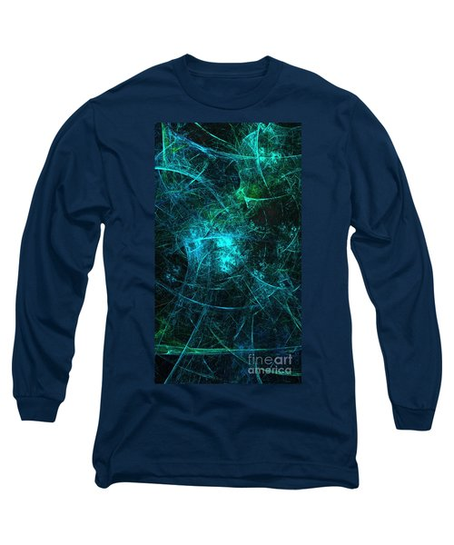 Emerald And Azure Align Long Sleeve T-Shirt