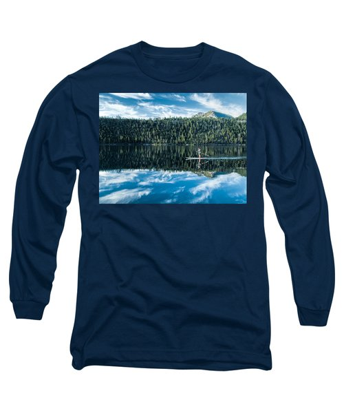 Emerald Bay Morning Long Sleeve T-Shirt