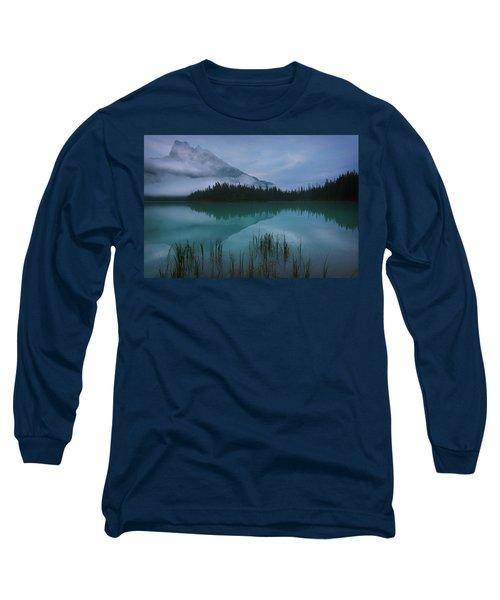 Emerald Lake Before Sunrise Long Sleeve T-Shirt