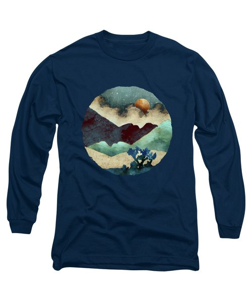 Evening Calm Long Sleeve T-Shirt by Spacefrog Designs