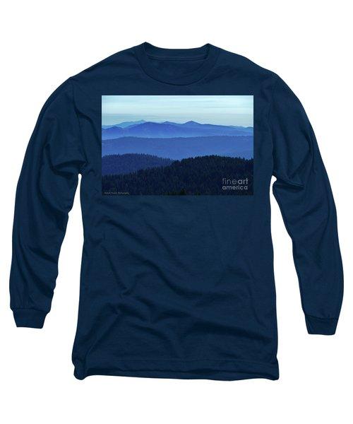 Oregon Blues  Long Sleeve T-Shirt