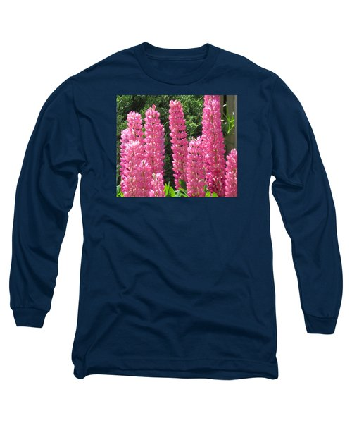 Everything Pink Long Sleeve T-Shirt by Jeanette Oberholtzer