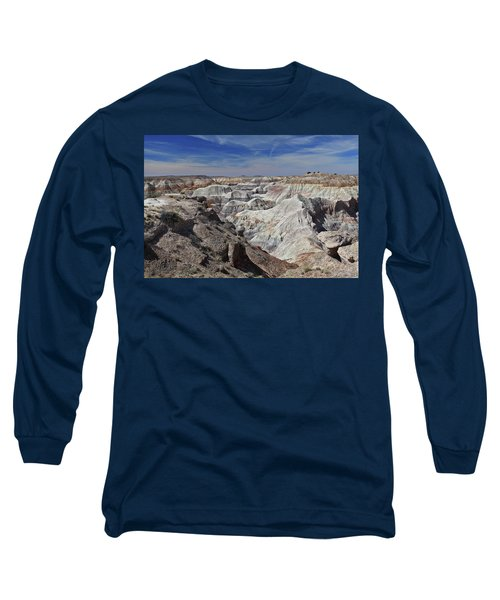 Long Sleeve T-Shirt featuring the photograph Evident Erosion by Gary Kaylor