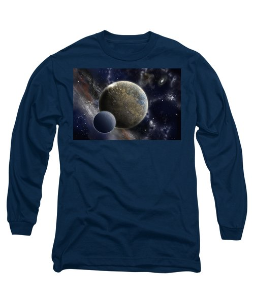 Exosolar Worlds Long Sleeve T-Shirt