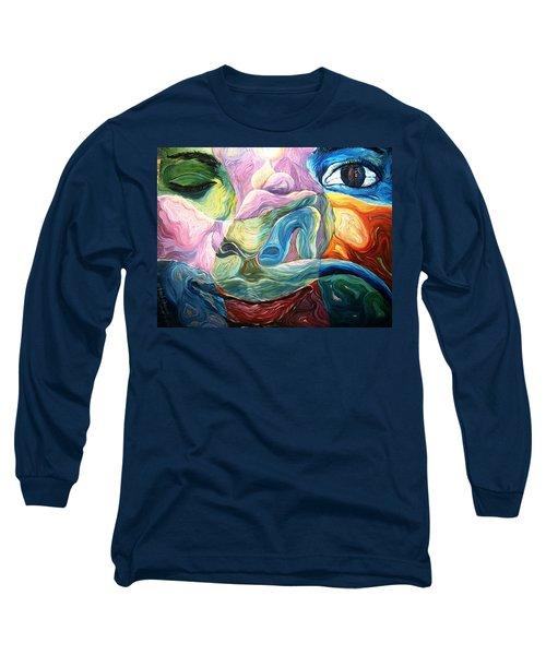 What Seek Ye ? Long Sleeve T-Shirt by Bankole Abe