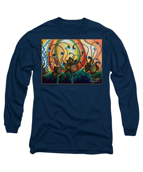 Extraterrestrial Flora Long Sleeve T-Shirt