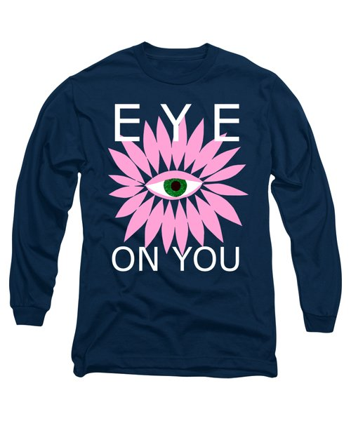 Eye On You - Black Long Sleeve T-Shirt