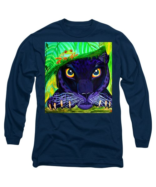 Eyes Of The Rainforest Long Sleeve T-Shirt