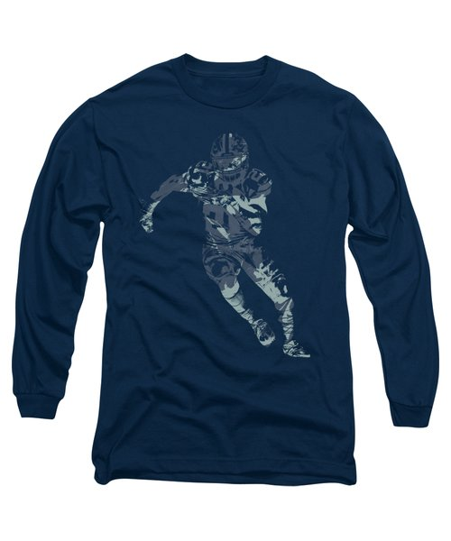 Ezekiel Elliott Cowboys Pixel Art T Shirt Long Sleeve T-Shirt