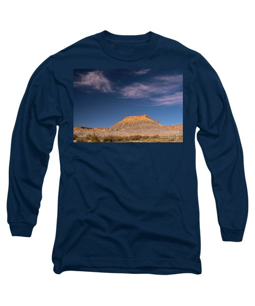 Factory Butte Utah Long Sleeve T-Shirt