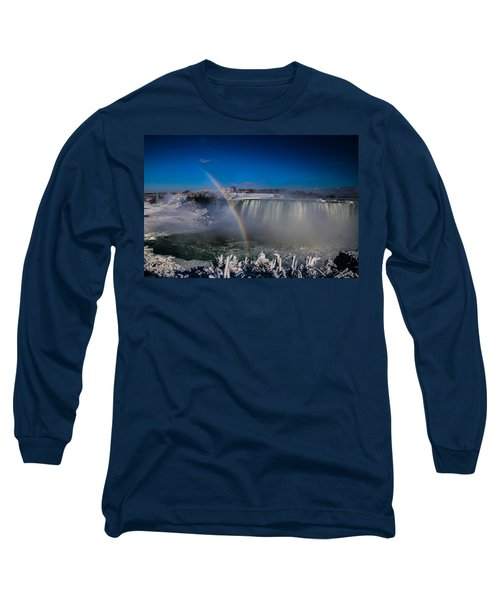 Falls Misty Rainbow  Long Sleeve T-Shirt
