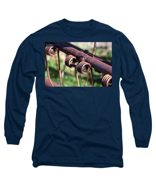Long Sleeve T-Shirt featuring the photograph Farm Equipment 6 by Ely Arsha