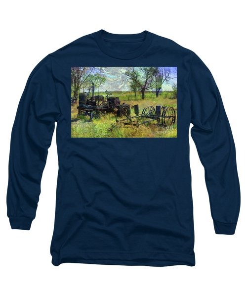 Farm Equipment Long Sleeve T-Shirt