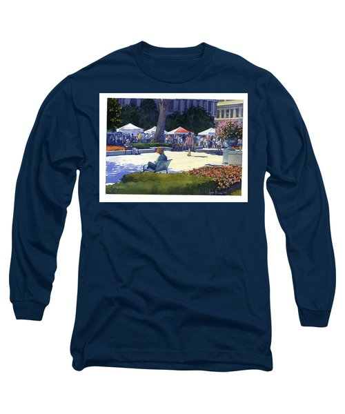 Farmers Market, Madison Long Sleeve T-Shirt