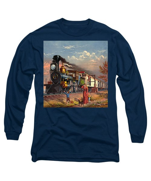 Fast Mail 1875 Long Sleeve T-Shirt