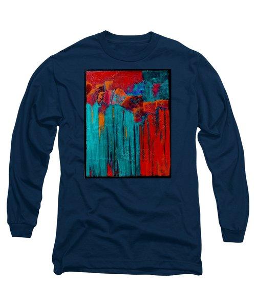 Waterfall Long Sleeve T-Shirt by Nancy Jolley