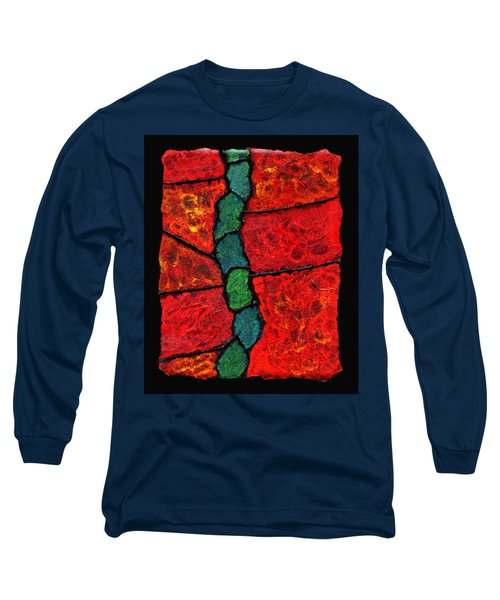 Faux Tile Painting One Long Sleeve T-Shirt