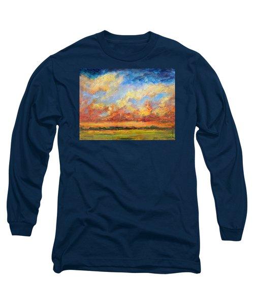 Feathered Sky Long Sleeve T-Shirt