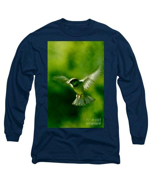 Feeling Free As A Bird Wall Art Print Long Sleeve T-Shirt