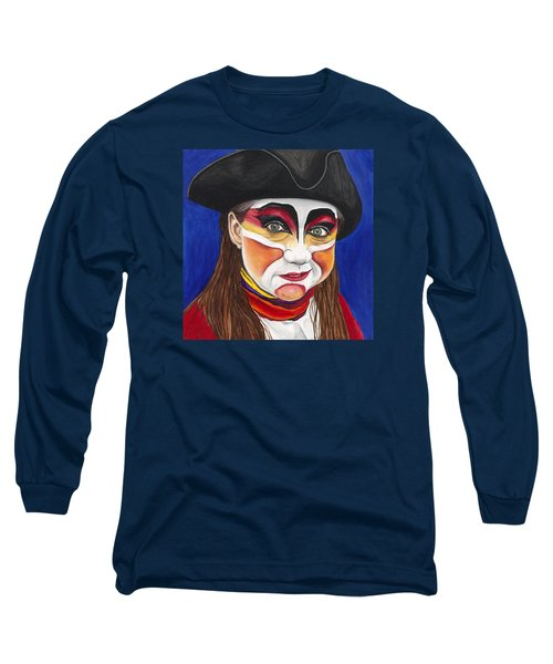 Female Carnival Pirate Long Sleeve T-Shirt