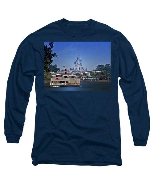 Ferry Boat Magic Kingdom Walt Disney World Mp Long Sleeve T-Shirt