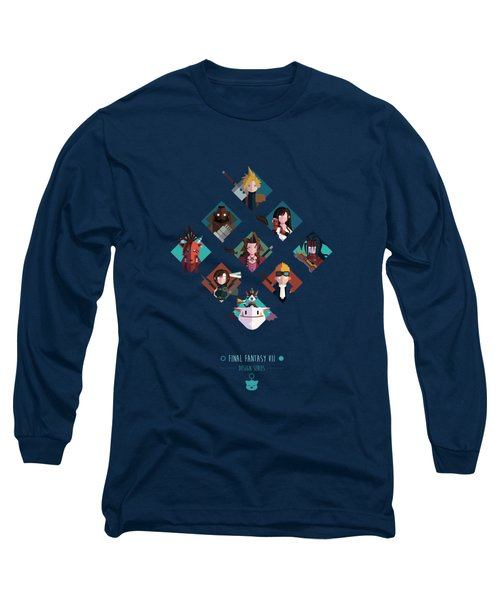 Long Sleeve T-Shirt featuring the digital art Ff Design Series by Michael Myers