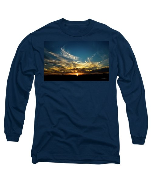 Fiery Sunset Long Sleeve T-Shirt