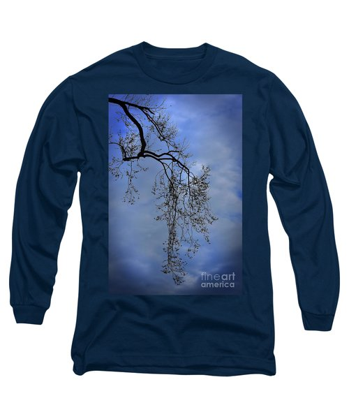 Long Sleeve T-Shirt featuring the photograph Filigree From On High by Skip Willits