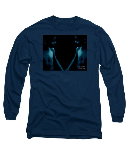Finding Oneself Long Sleeve T-Shirt by Mim White