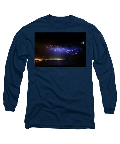 Fingers Across The Lake Long Sleeve T-Shirt