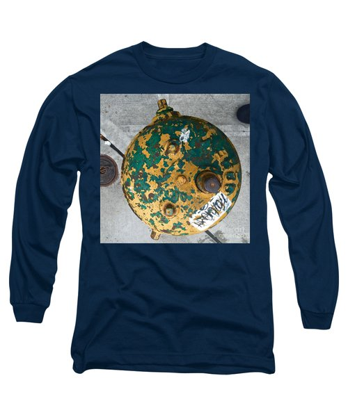Fire Hydrant #2 Long Sleeve T-Shirt by Suzanne Lorenz