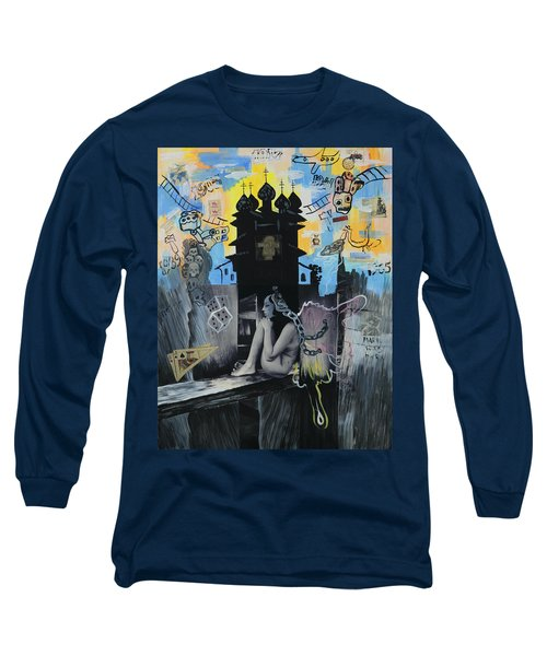 First Butterfly Long Sleeve T-Shirt by Yelena Tylkina