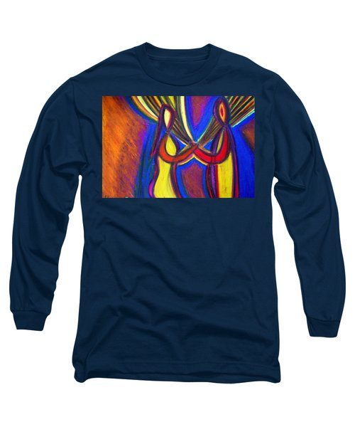 First Date Long Sleeve T-Shirt by Vadim Levin