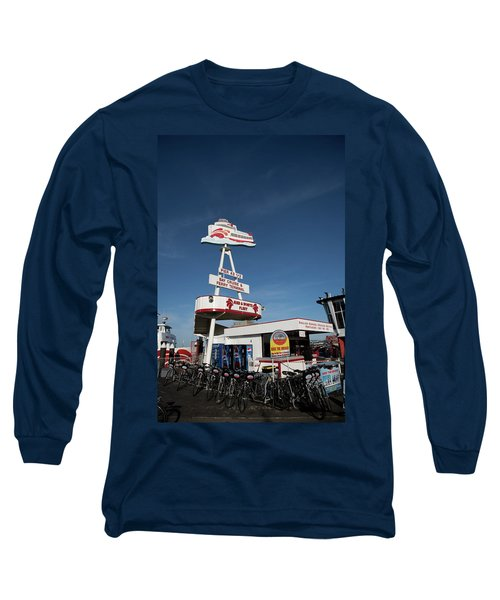 Fisherman's Wharf Bike Rental Long Sleeve T-Shirt