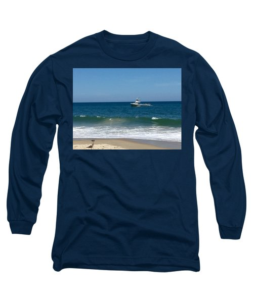 Fishing Boat Long Sleeve T-Shirt by Dorothy Maier