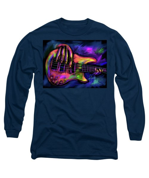 Five String Bass Long Sleeve T-Shirt