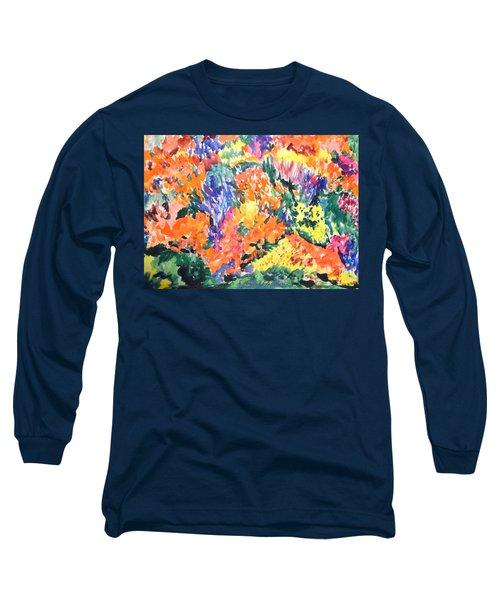 Flora Ablaze Long Sleeve T-Shirt by Esther Newman-Cohen