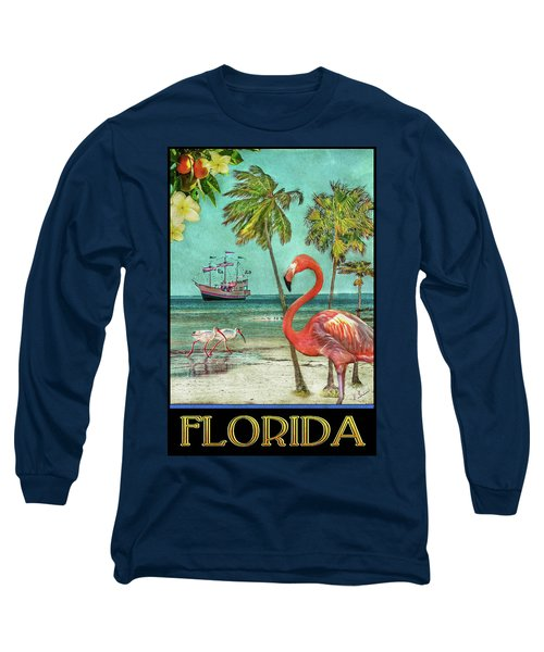 Long Sleeve T-Shirt featuring the photograph Florida Advertisement by Hanny Heim
