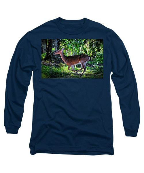 Florida Deer Long Sleeve T-Shirt