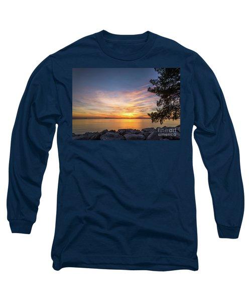 Florida Sunset #3 Long Sleeve T-Shirt