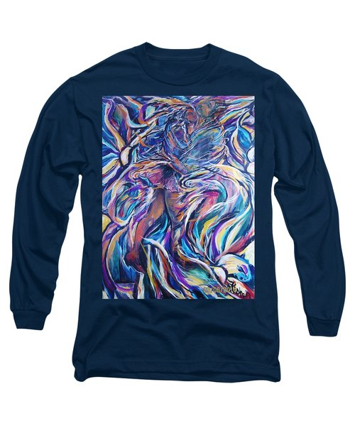 Flowering Long Sleeve T-Shirt by Dawn Fisher
