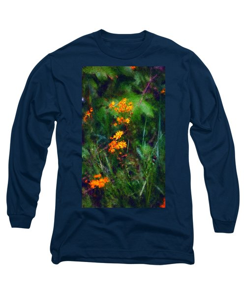 Flowers In The Woods At The Haciendia Long Sleeve T-Shirt