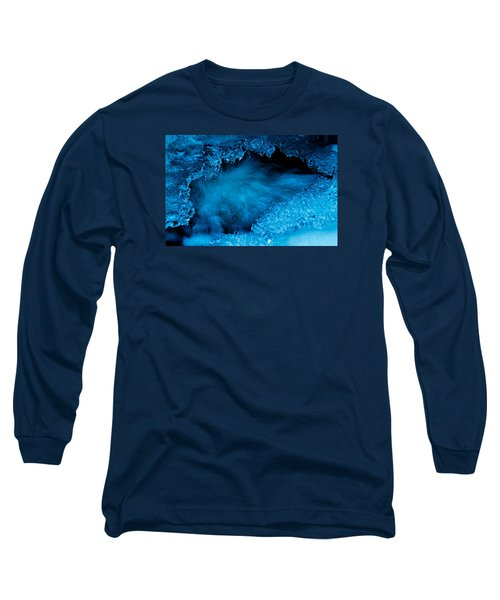Flowing Diamonds Long Sleeve T-Shirt by Sean Sarsfield
